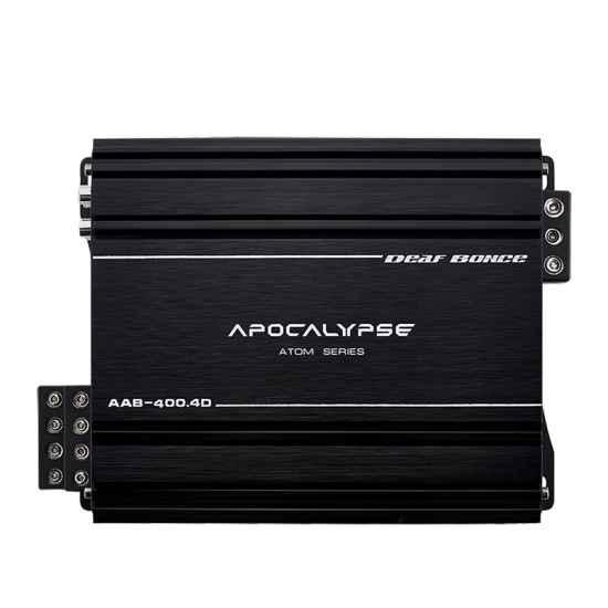 4-канальный усилитель Alphard AAB-400.4D