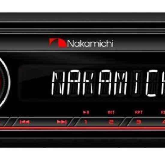Автомагнитола 1DIN Nakamichi NQ511BR