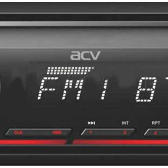 Автомагнитола 1DIN ACV AVS-912BR