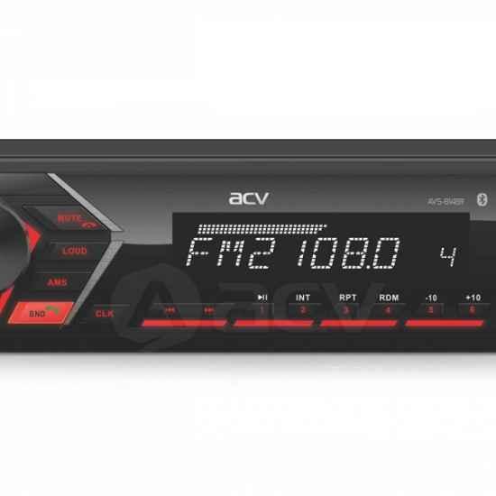 Автомагнитола 1DIN ACV AVS-814BR