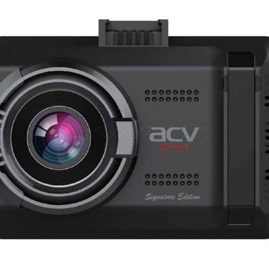 Видеорегистратор с GPS ACV GX-9100 комбо
