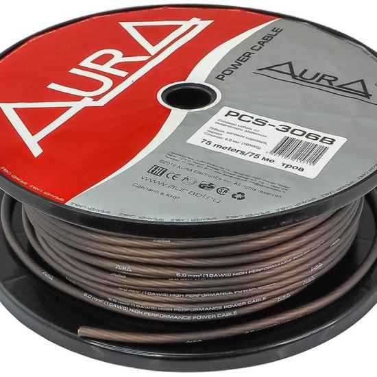 Силовой кабель AURA PCS-306B