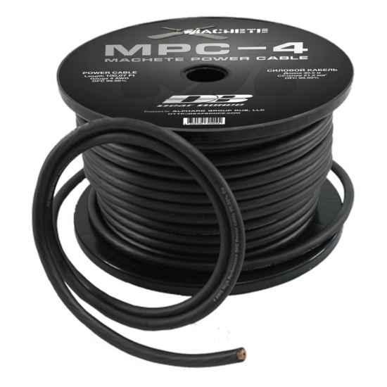 Силовой кабель Alphard MPC-4GA Black