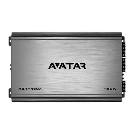4-канальный усилитель Avatar ABR-460.4