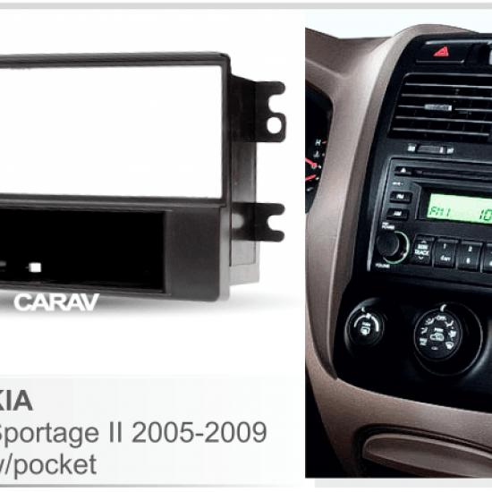 Переходная рамка 1DIN CARAV 11-020