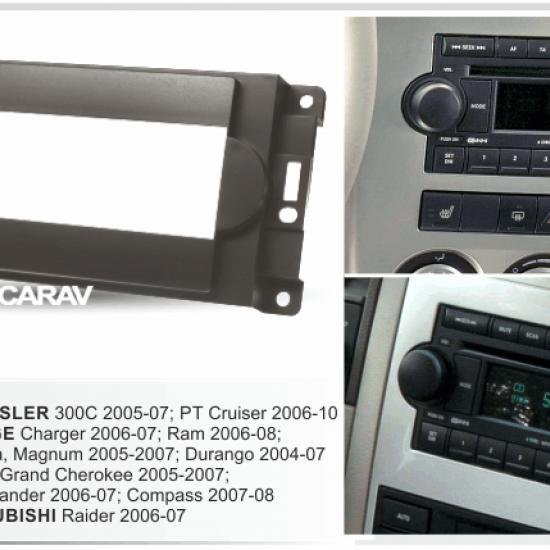 Переходная рамка 1DIN CARAV 11-054