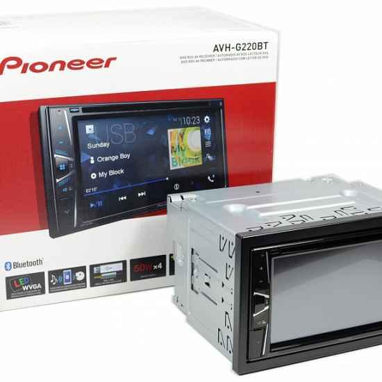 Автомагнитола 2DIN Pioneer AVH-G220BT