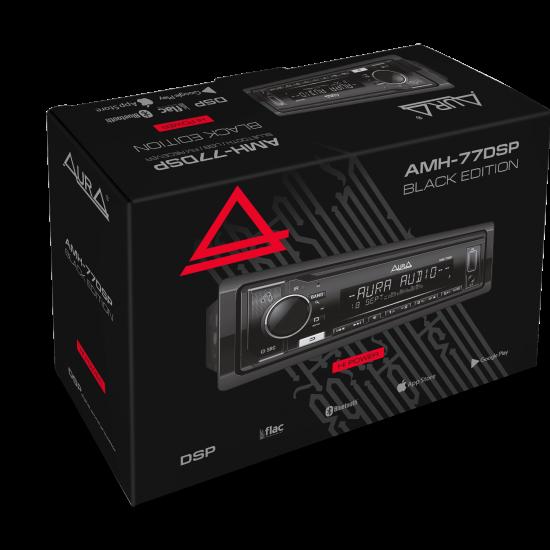 Автомагнитола Aura AMH-77DSP BLACK EDITION