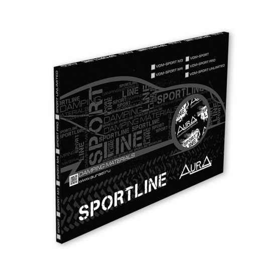 Вибродемфирующий материал VDM-sport-m-4