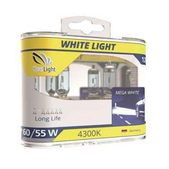 Галогеновая лампа ClearLight WhiteLight H1 12V-55W
