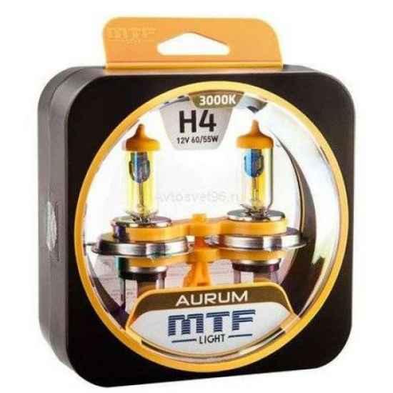 Галогеновая лампа MTF AURUM H4 12V 60/55W