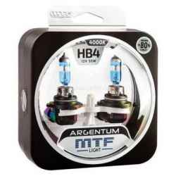 Argentum+80% HB4 9006 12V 55W 4000к