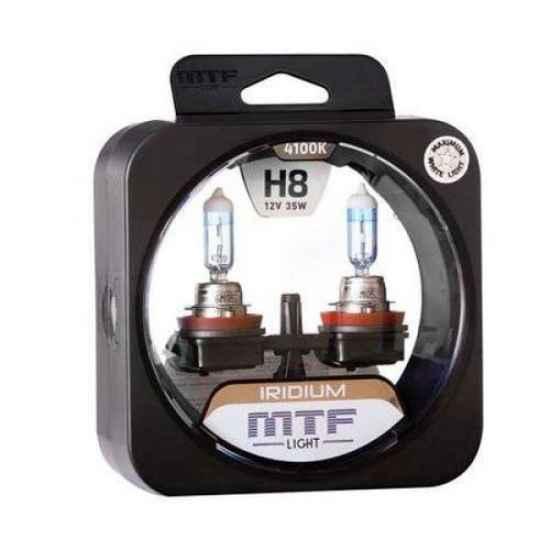 Ксеноновая лампа MTF IRIDIUM H8 12V 35W 4100K