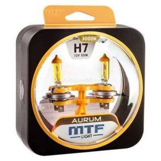 Галогеновая лампа MTF AURUM H7 12V 55W