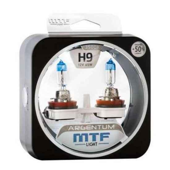 Галогеновая лампа MTF Argentum+50% H9 12V 35W 4000к