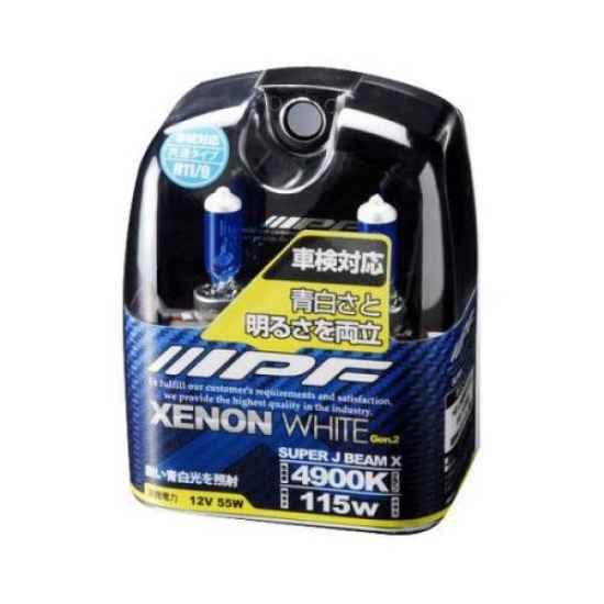 Галогеновая лампа IPF XENON WHITE H11 VXE64R 4900K