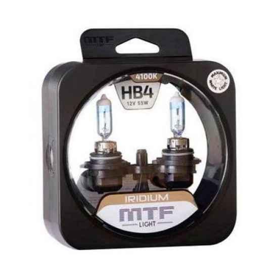 Галогеновая лампа MTF IRIDIUM HB4 9006 12V 55W