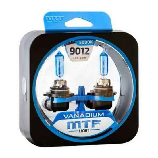 Галогеновая лампа MTF Vanadium 9012 HIR2 12V 5000К