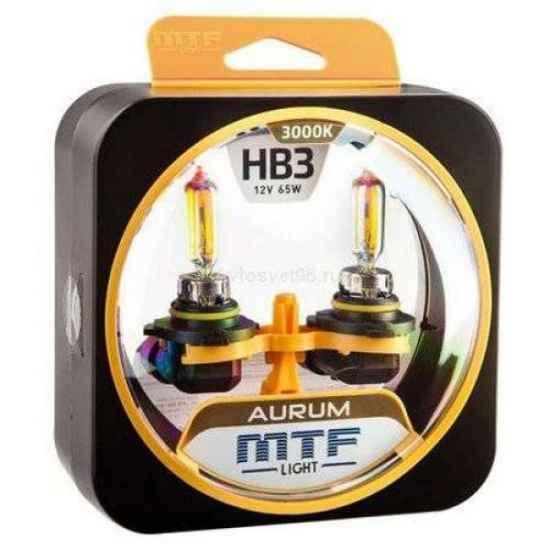 Галогеновая лампа MTF AURUM HB3 12V 65W