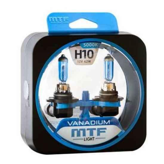Гологеновая лампа MTF Vanadium H10 12V 42W 5000К