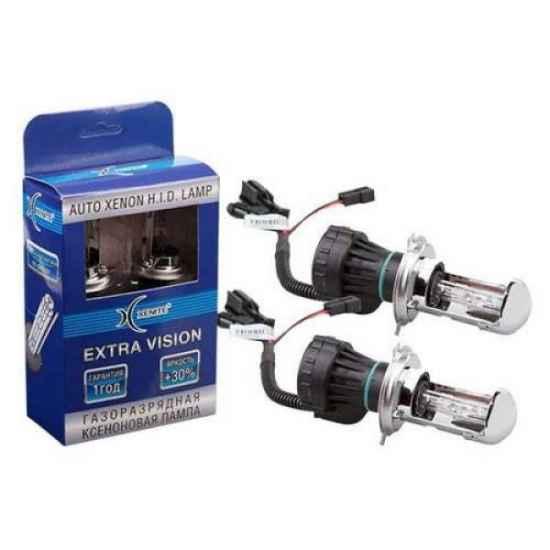 Автосвет XENITE EXTRA VISION+30% БИ H4 4300K