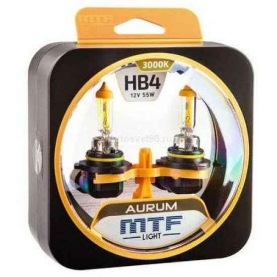 Галогеновая лампа MTF AURUM HB4 12V 55W