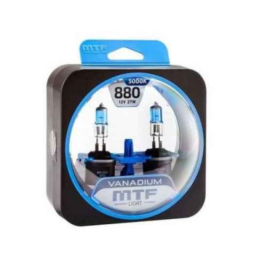 Галогеновая лампа MTF Vanadium H27 12V 880 27W 5000К