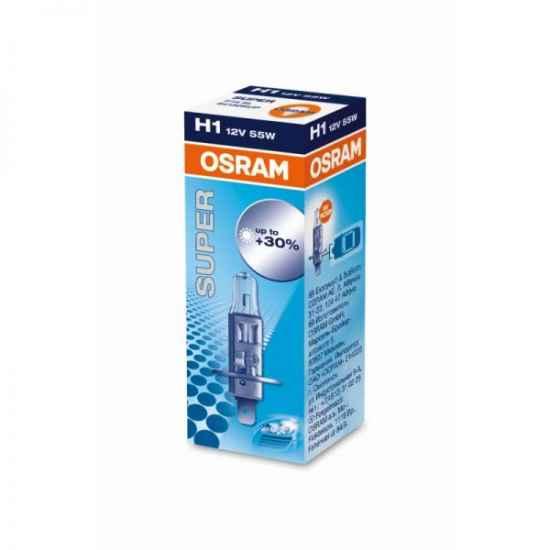 Автосвет OSRAM H1 64150SUP Halogen SUPER 12V 55W