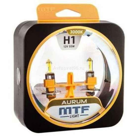 Галогеновая лампа MTF AURUM H1 12V 55W