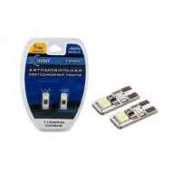 T10 W5W CANBUS CAN207 2SMD +50% 40Lm