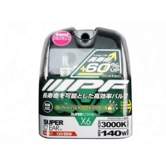 Галогеновая лампа IPF SUPER CLEAR H3 V6X21 3000K