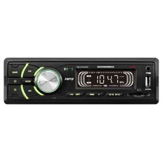 Автомагнитола 1DIN Soundmax SM-CCR3053F