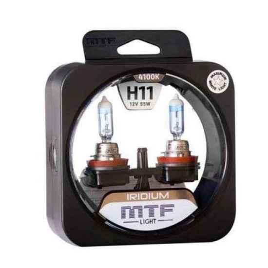 Галогеновая лампа MTF IRIDIUM H11 12V 55W 4100K