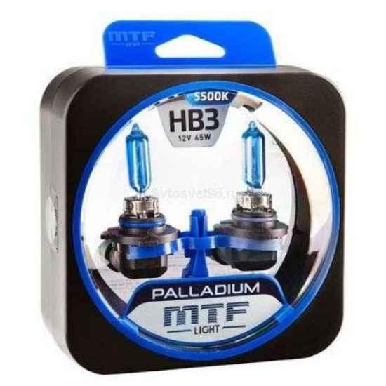 Галогеновая лампа MTF Palladium HB3 12V 65W 5400K