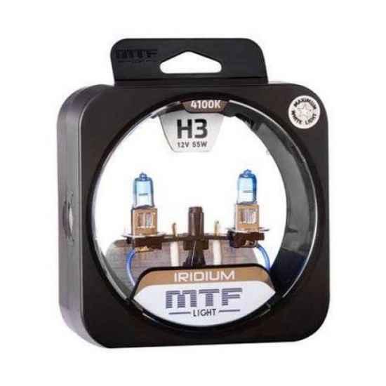 Галогеновая лампа MTF IRIDIUM H3 12V 55W 4100K