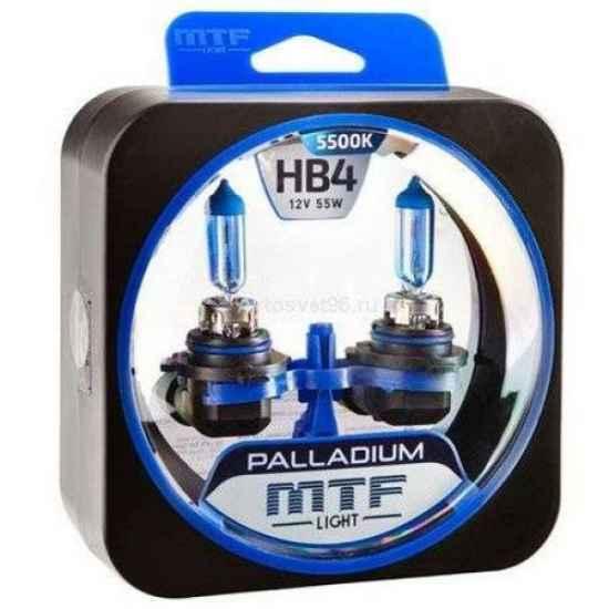 Галогеновая лампа MTF Palladium HB4 12V 55W 5400K