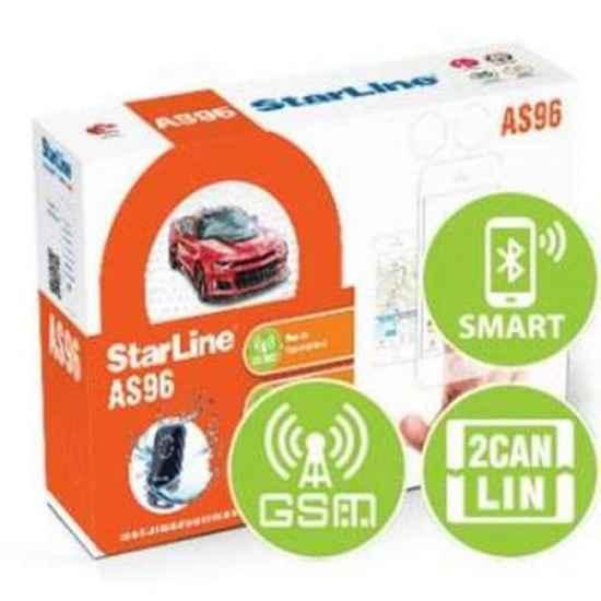 Автосигнализация StarLine AS96BT 2CAN+2LIN GSM