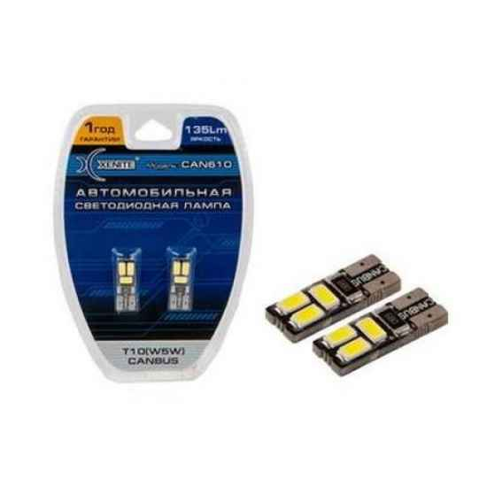 Автосвет XENITE T10 W5W CANBUS CAN610 6SMD 135Lm 9-30V
