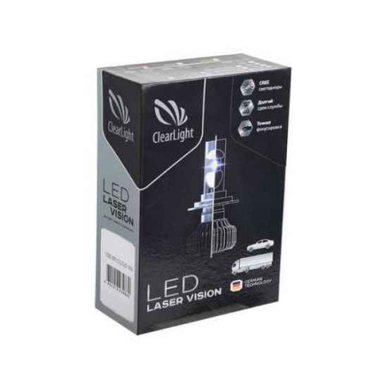LED фары ClearLight LED Laser Vision H4 4300 Lm 12-24 в