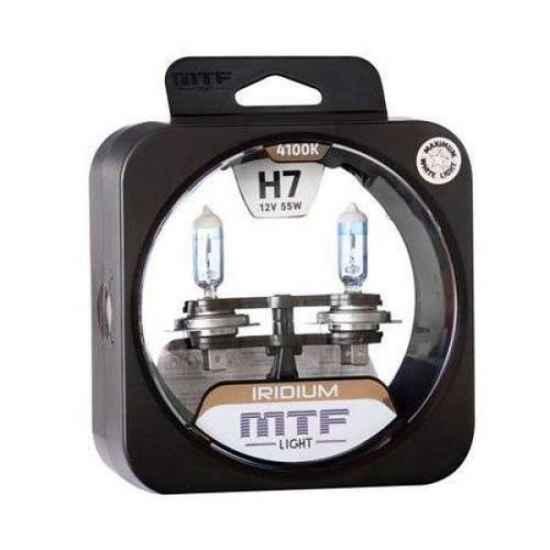 Галогеновая лампа MTF IRIDIUM H7 12V 55W 4100K