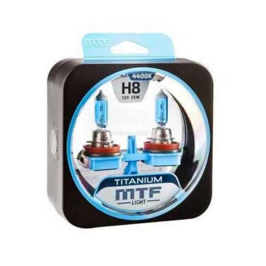 Галогенная лампа MTF Titanium H8 12V 55W 4300К