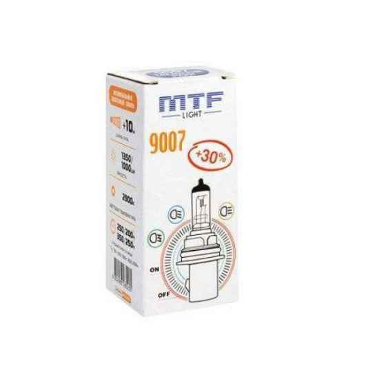 Галогеновая лампа MTF Vanadium HB5 9007 12V 6555W 5000К
