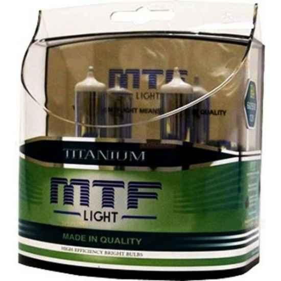 Галогенная лампа MTF Titanium H1 12V 55W 4300K
