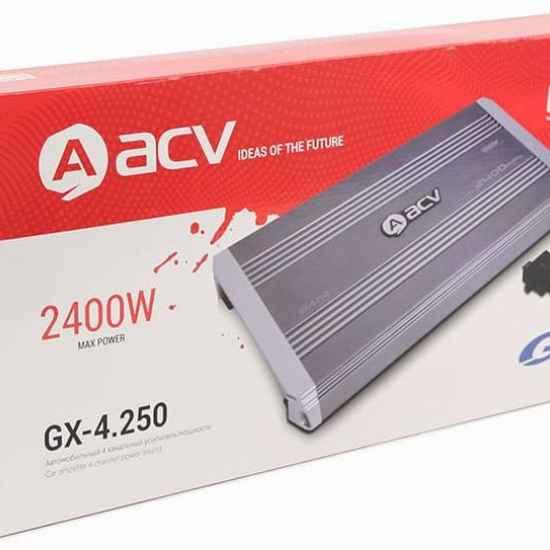 4-канальный усилитель ACV GX-4.250