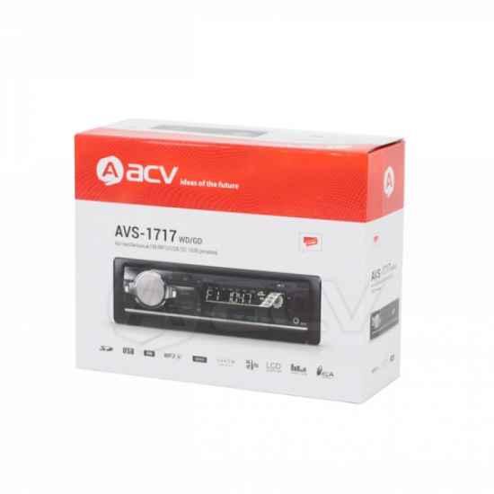 Автомагнитола 1DIN ACV AVS-1717GD
