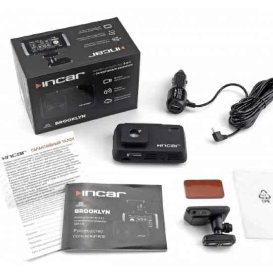 Видеорегистратор 3 в 1 Incar SDR-170