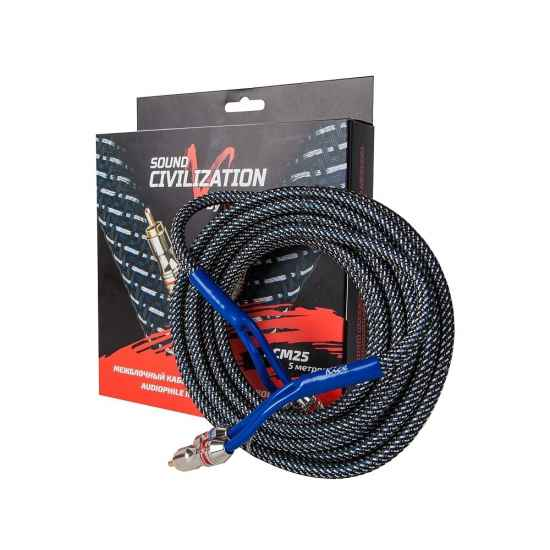 Межблочный кабель KICX RCA SCM25