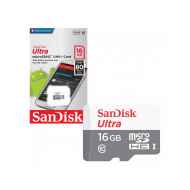 SanDisk Ultra microSDHC Class 10 UHS-I 80MB/s 16GB