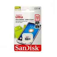 SanDisk Ultra microSDHC Class 10 UHS-I 80MB/s 32GB