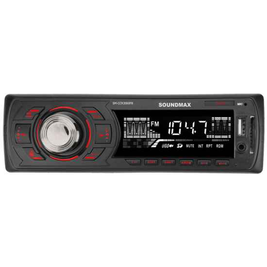 Автомагнитола 1DIN Soundmax SM-CCR3060FB